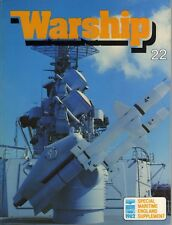 Warship Quarterly No 22 with Maritime Supplement (Conway 1982 1st)