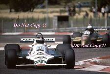 Carlos REUTEMANN Williams FW07B francese GRAND PRIX 1980 FOTOGRAFIA 1