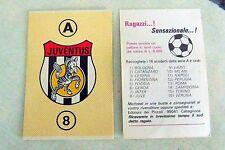 lotto 95 Figurina Calciatori Scudetto campionato Edizioni Caltagirone Anni'70