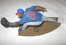 DERREK LEE SIGNED MCFARLANE FIGURE AUTOGRAPH CHICAGO CUBS JSA COA