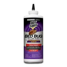Hot Shot Dust with Diatomaceous Earth 8-oz Bed Bug Killer