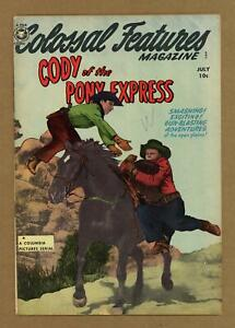 Colossal Features Magazine #34(#2) VG+ 4.5 1950