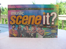 Scene It? Music Edition Trivia DVD Game~ New & Factory Sealed!
