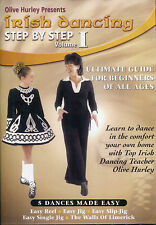 Irish Dancing Step By Step Volume 1 -Olive Hurley Irish Dancing Champion