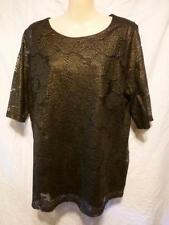 Rockmans Short Sleeve Machine Washable Solid Tops & Blouses for Women