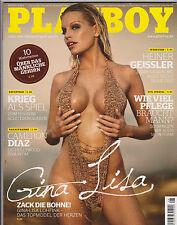 Playboy 08/2010 August Gina Lisa, Silvia Hauten, Nina Kristin, Cameron Diaz