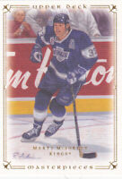 08/09 UD MASTERPIECES..MARTY McSORLEY..CARD # 66..KINGS..FREE COMBINED SHIP