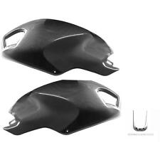 PAIR OF SIDE TANK COVERS SHINED CARBON FIBER DUCATI 1100 MONSTER S '08/'09