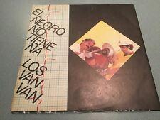 LOS VAN VAN El Negro No Tiene Na LP 1988 Cuba Tropical Music Record 33 Rpm