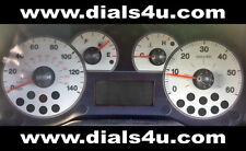 FIAT GRANDE PUNTO (2005-2012) - 140mph - WHITE DIAL KIT