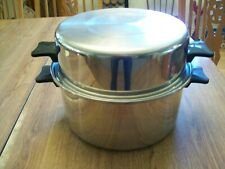 IN KOR Brand Tri Ply Stainless Steel 6 Qt. Stock/Stew/Chili Pot W/ Deep Dish Lid