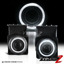 2003-2006 GMC Sierra Halo Projector Fog Lights/Lamps Set W/Switch+Bulb+Wiring