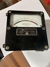 Vintage Weston Model 433 Amperes A.C. Weston Electrical Instrument Newark, N.J.