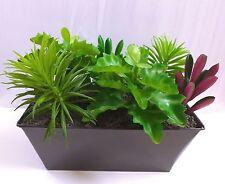 6 Artificial Succulents Grass Mini Tree Green Leaf Plants Landscape
