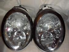 MINI COOPER HEAD LIGHTS 63.12-6911701 Set (2 X HEAD LIGHTS) - un aspetto molto buono!