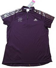 Adidas Ladies London 2012 Olympics Climacool Cycling Jersey Shirt Top 14 UK