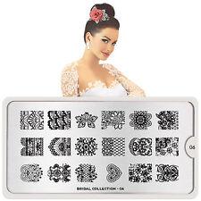 MoYou London Stamping Schablone Bridal # 6