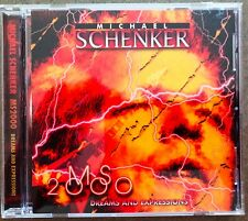MICHAEL SCHENKER MS2000 Dreams and Expressions CD with booklet insert