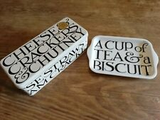 Emma Bridgewater Black Toast Rectangular TIN AND TRAY OFFER SET Gift of Biscuits