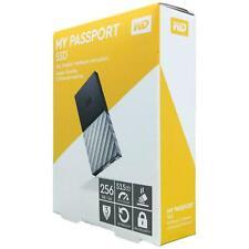 Western Digital WD My Passport 256 GB SSD USB 3.1 and USB C External Hard Drive