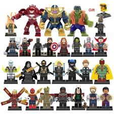 Avengers End Game mini figurines Marvel super héros Hulk IronMan Thor 27pcs lego