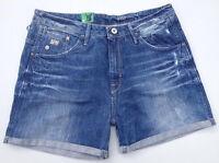 G-Star Raw Shorts 'ARC 3D X LOOSE WMN' Size 33 MEDIUM AGED DESTROY NEW Womens