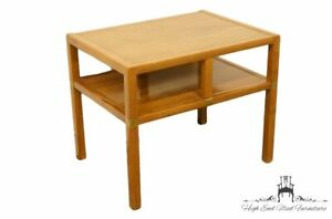 """Tung Si Orignal Asian Inspired Mid Century Modern 27"""" Tiered End / Lamp Table..."""