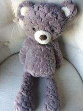 """Mary Meyer Putty Bear Teddy Bear Soft Toy Grey 17"""" Stuffed Animal"""