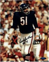 Dick Butkus Chicago Bears Autographed 8x10 Photo With HOF 79 Inscription TRISTAR