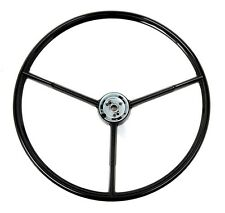 New! 1960-1963 Ford Falcon Black Steering Wheel Original Style Free Shipping