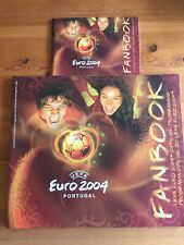 EURO 2004 Official Programme Fanbook ( Full Size ) +  Pocket Guide