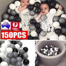 150Pcs Ocean Balls Soft Plastic Swimming Pool Pit Baby Kid Children Colorful Toy