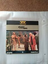 THE PLANET OF THE APES  LASER DISC WIDESCREEN EDITION
