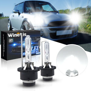 For Mini Cooper 2002-2006 D2S Headlight Xenon Replacement 6000K Low Beam Bulbs