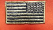 US Army Flag OCP/MULTICAM Subdued Reverse With Hook Military Tactical Patch NEW