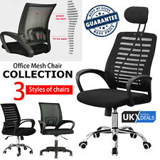 Ergonomic Office Desk Chair Executive Computer Adjustable Swivel Mesh High Chair