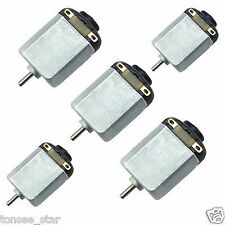 5 pcs Small Electric DC Motor 6v, High-speed, for RC Toys and RC Cars
