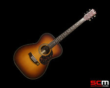 MATON EBG808 SMALL BODY CUSTOM BURST HALO ACOUSTIC ELECTRIC GUITAR LTD EDITION