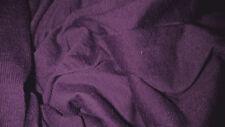 jersey polyester col prune aubergine vente au metre 140 cm de large