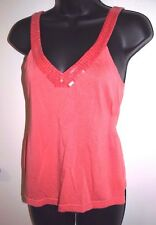 Guess Size Large Womens Coral Cami with Sequin Detail