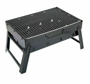 Portable Barbeque Charcoal Grills Camping Picnic Outdoor Grilling Tool Equipment