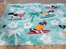 Handmade fleece pet blanket summer fun!t