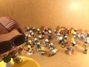 U-CHOOSE Vintage SMURF smurfette Figures Peyo Schleich Toys 1972-1984 W. Berrie