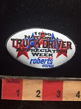 1999 Roberts Express Patch NATIONAL TRUCK DRIVING APPRECIATION WEEK C75L
