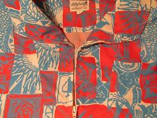 Vintage LILLY PULITZER Men's Stuff Wind Breaker Popover Red White Blue - L