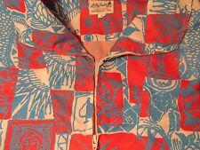 Vintage LILLY PULITZER Men's Stuff Wind Breaker Popover Red White Blue - L