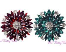 Modeschmuck-Broschen & -Anstecknadeln aus Harz mit Kristall für Damen