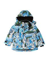 M&S Ski Mountain Print Fleece Lined Hooded Winter Coat Thinsulate™ 12-18 m £44