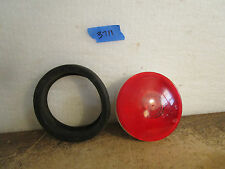 Truck Lite Model 40 4'' red lights stop light have 11 lights 4 mounting rings