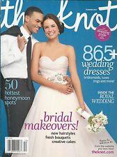 The Knot Magazine Wedding Dresses Bridal Makeovers Honeymoon Locations Cakes